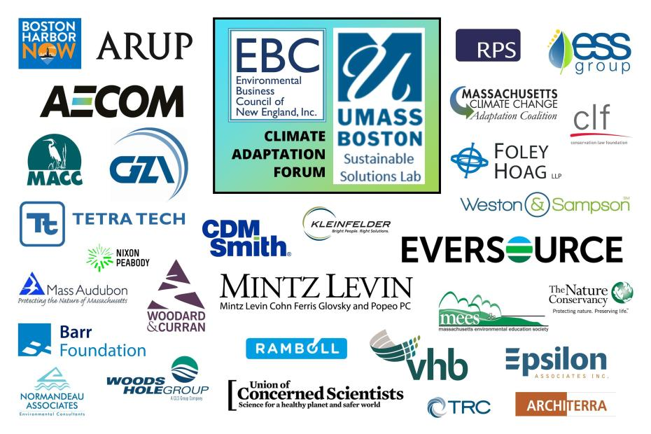 Adaptation Forum Sponsors-Supporters